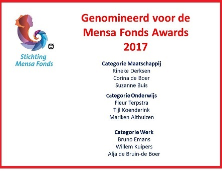 Mensa Fonds Award